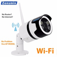 Zensmin fullHD 1080p wireless smartlink IP Camera double type light keep color image AP camera home security video surveillance