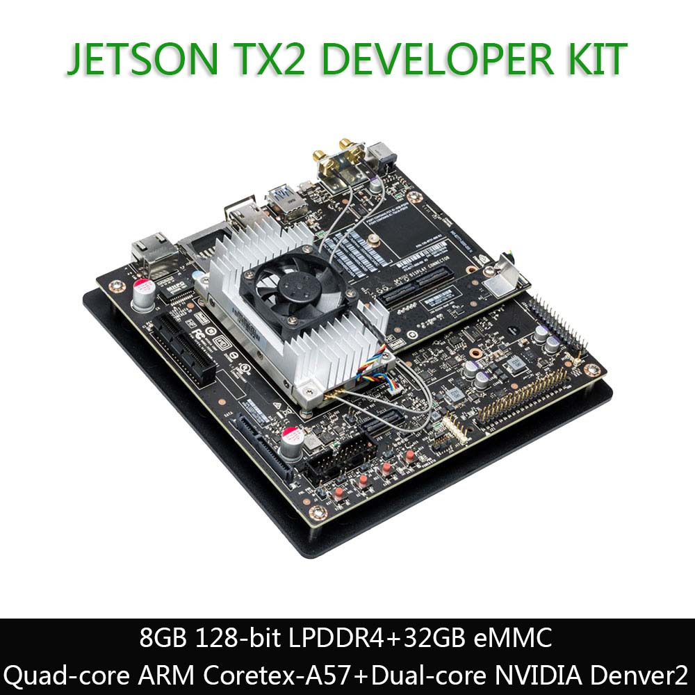 NVIDIA Jetson TX2 Development Kit, 8 GB 128 Bit LPDDR4  32 GB EMMC, The AI Solution For Autonomous Machines
