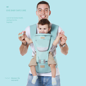 Image 1 - Bebek taşıyıcı ergonomik taşıyıcı sırt çantası Hipseat yenidoğan ve bebek için önlemek o tipi bacak sling bebek kanguru