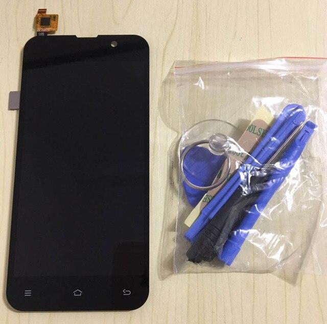 """Touchscreen capacitivo + display LCD 5.0 """"zopo zp980 zp980 + zp c3 zp c26589t navio livre da tela de toque lcd + ferramentas"""