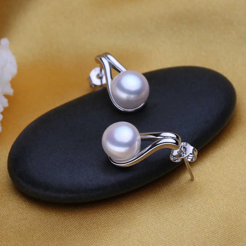 FENASY 真珠のイヤリング、 2018 新天然真珠のイヤリング、女性のための、ヴィンテージアクセサリーの宝石のスタッドのイヤリング、ジュエリーボックス