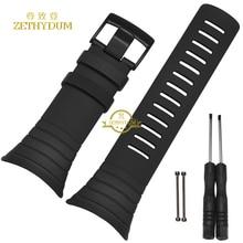 Inteligente relojes correa de banda de Caucho de Silicona pulsera pulsera de la correa 25mm de NÚCLEO SUUNTO correa de pulsera herramientas Gratuitas