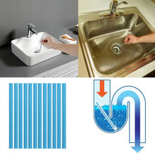 12pcs/Pack Sani Sewer Rod Drain Cleaner Sticks Kitchen Toilet Bathtub Sewage Decontamination To Deodorant Sewer Stop Clogs tools(China)