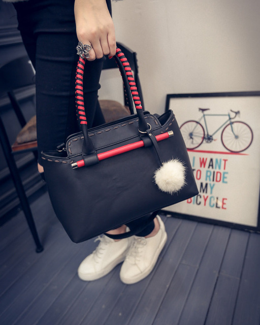 New fashion women messenger bag designer handbag PU leather retro female mini chain Messenger Bag