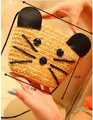 Cartoon small mouse straw knitted cross-body bag rattan bag beach bag one shoulder women's small