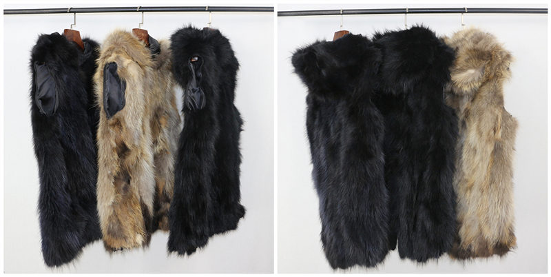 2019 Real Fur Coat Winter Jacket Women Long Parka Waterproof Big Natural Raccoon Fur Collar Hood Thick Warm Real Fox Fur Liner 25