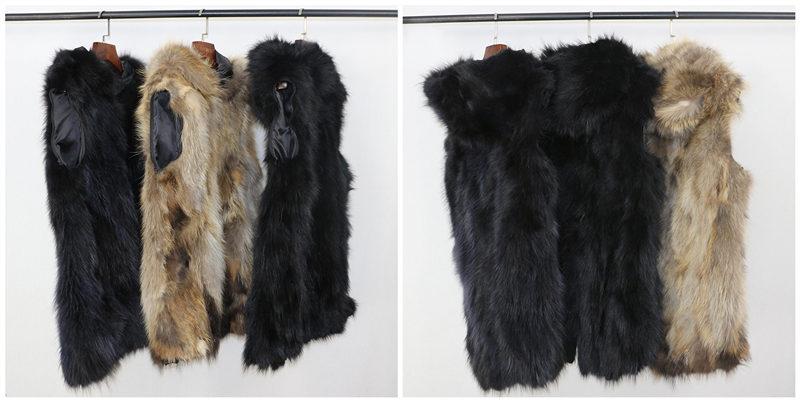 Parkas Fur Women Thick 11