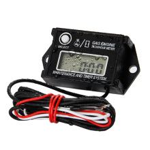 Free shipping  tachometer hour meter for motorcycle marine snowmobile jet ski chain saw pit bike lawn mower ATV jet boat