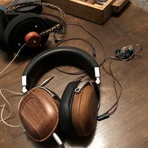 Image 5 - B8 Tai Nghe HIFI Stereo Năng Động Bằng Gỗ Tai Nghe Chụp Tai Over Ear DJ Giám Sát Tai Nghe Phòng Thu Âm Thanh Loại Bỏ Tiếng Ồn Tốt Tai Nghe