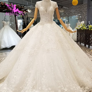 Image 5 - AIJINGYU Marriage Gown Online High Street Gowns Wear Egypt engagement White Bride Turkish Casual Dresses Royal Wedding Dress