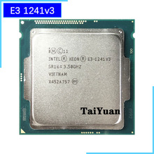 CPU Processor Intel Xeon E3 1241v3 Lga 1150 Quad-Core Eight-Thread 80W