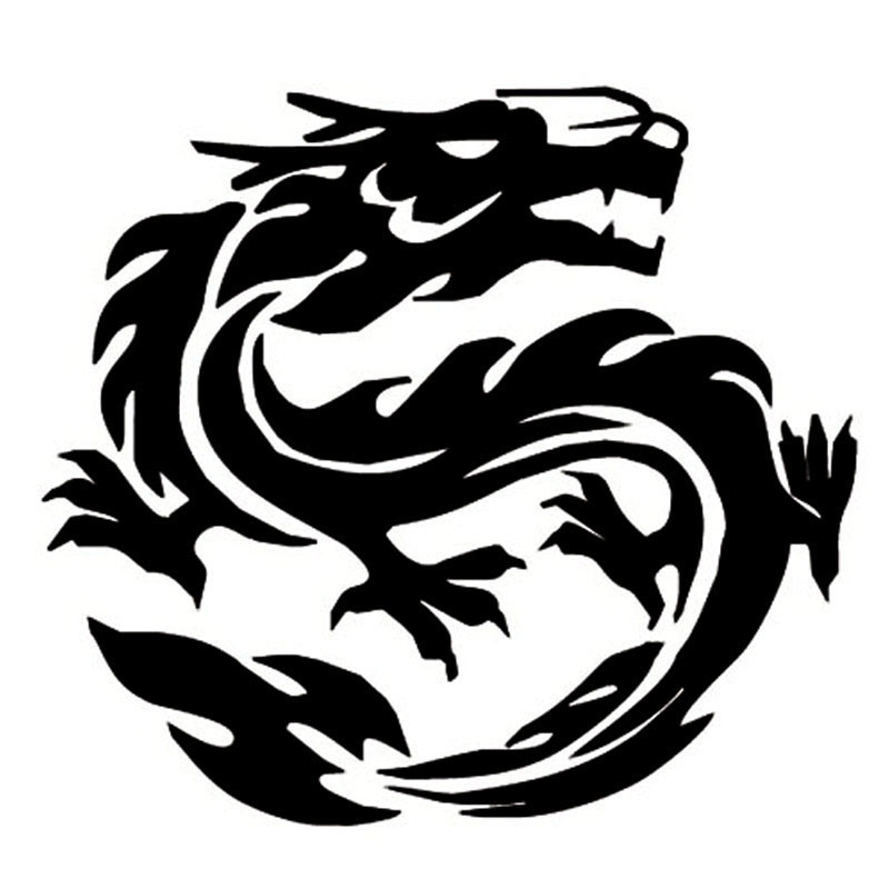 Online Buy Wholesale Dragon Car Decal From China Dragon