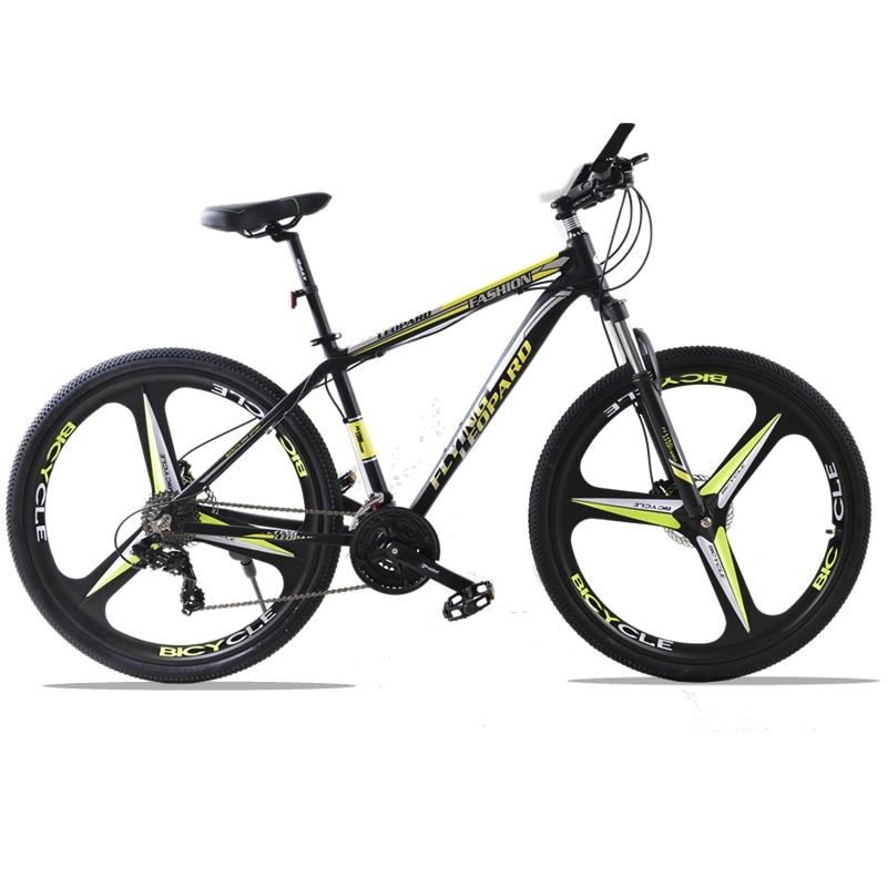 bicycle Mountain Bike 27Speed 3-Spoke 29 Inches Wheels Dual Disc Brake Aluminum Frame MTB Bicycle Hydraulic brake
