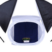 TRUMAGINE 60X60CM Folding Photo Studio Softbox Photography Shooting Tent Soft Box Kit With 4 Backdrops