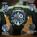 Digital Analog Watch S-Shock Men Women LED Electronic Day 50m waterproof Dive Army G Type Sport watch Relogio Masculino Feminino