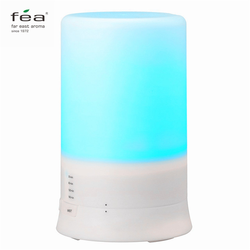 FEA Essential Oil Diffuser 100ML Air Humidifier Aroma Lamp Aromatherapy Electric Ultrasonic Aroma Diffuser Mist Maker hot sale humidifier aromatherapy essential oil 100 240v 100ml water capacity 20 30 square meters ultrasonic 12w 13 13 9 5cm