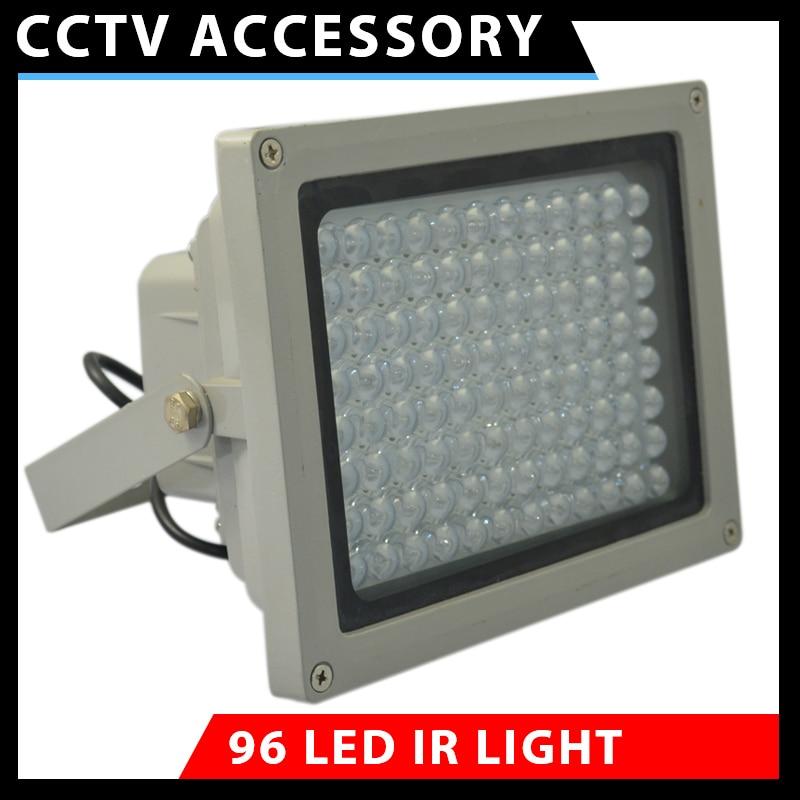 MS-moto 96 LED CCTV Infrared illuminator IR Fill Light lamp Waterproof Surveillance Camera Vehicle Safety Parking Lot