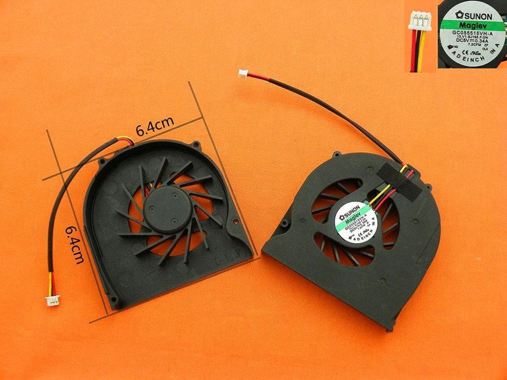 New Laptop Cooling Fan for Acer Aspire 2420 2920 2920Z AS2920 2920ZG(Original) P/N:GC054509VH A 13.V1.B3277.F.GN|Laptop Cooling Pads| |  - title=