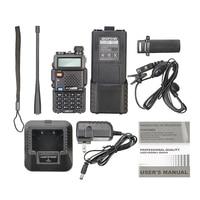 הקשר uv 5r uv שני הדרך רדיו Ham UV5R CB רדיו UV 5R ציד רדיו Baofeng UV5R 3800 mAh 5W מכשיר הקשר UHF400-520MHz VHF136-174MHz Portable (5)