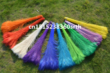 Фотография Wholesale perfect 1000pcs high quality natural Peacock feathers 28-32inch/70-80cm Decorative diy wedding  stage performance