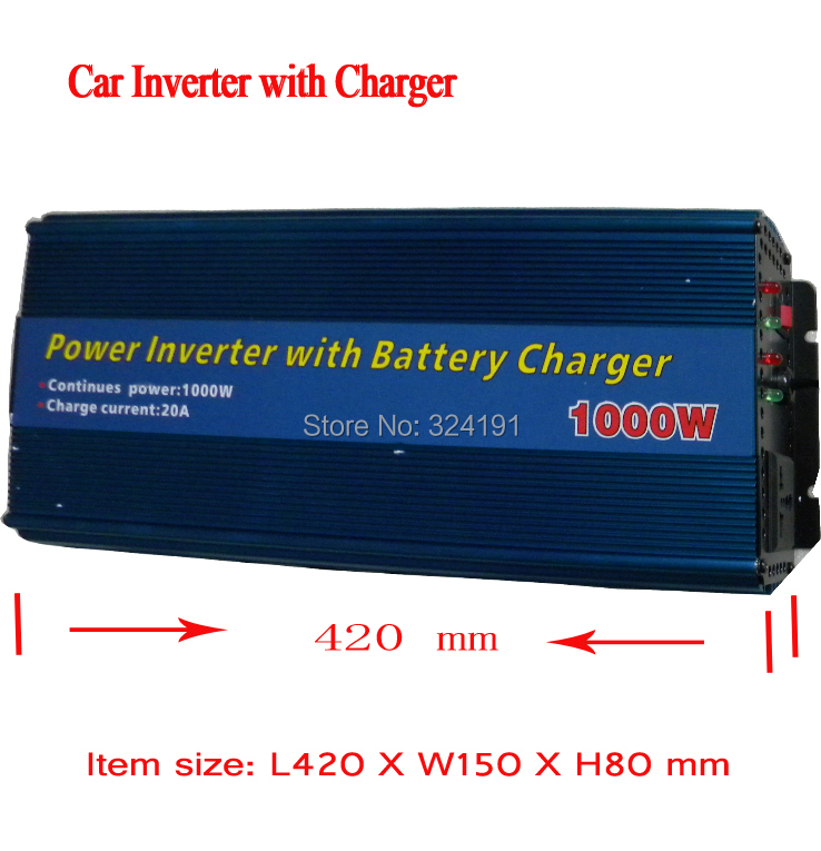 Powerful Car Accessories DC 12v To AC 220v ,1000watts Car Power inverter Converter Transformer Adapter battery Charger Inverters 220v to 12v car power car inverter converter transformer car turn home 60w96w120w
