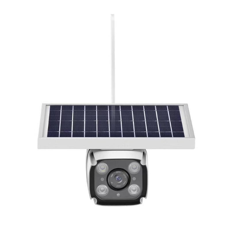 Caméra solaire 4G carte SIM 2MP Surveillance sans fil IP67 caméra étanche