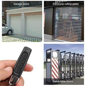 Image 5 - 3 cores mini sem fio 433mhz clonagem de controle remoto código cópia remoto 4 canais portão clonagem elétrica garagem porta auto