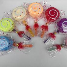20 штук леденец торт полотенце красочные конфеты творческий подарок полотенца хлопок красивое полотенце