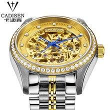 cadisen Swiss Brand Men's Sport Wrist Watches Water Resistant Watches 2016 Male Automatic machinery Watch relogio masculino