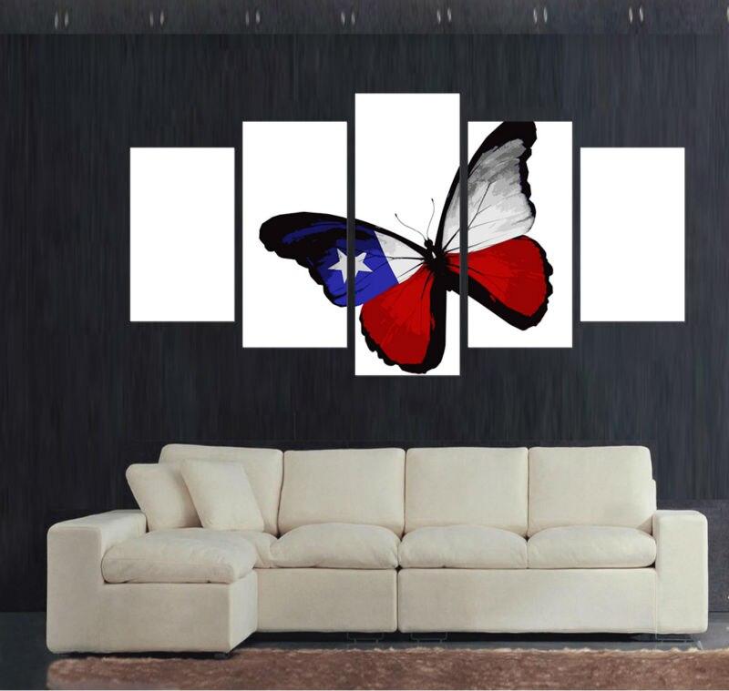 Big Size 5pcs Home Decorative Living Room Decor Wall Art