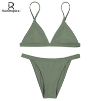 Raintropical 2016 NEW Mini Sexy Micro Bikinis Women Swimsuit Swimwear Brazilian Bikini Set Beach Bathing Suits