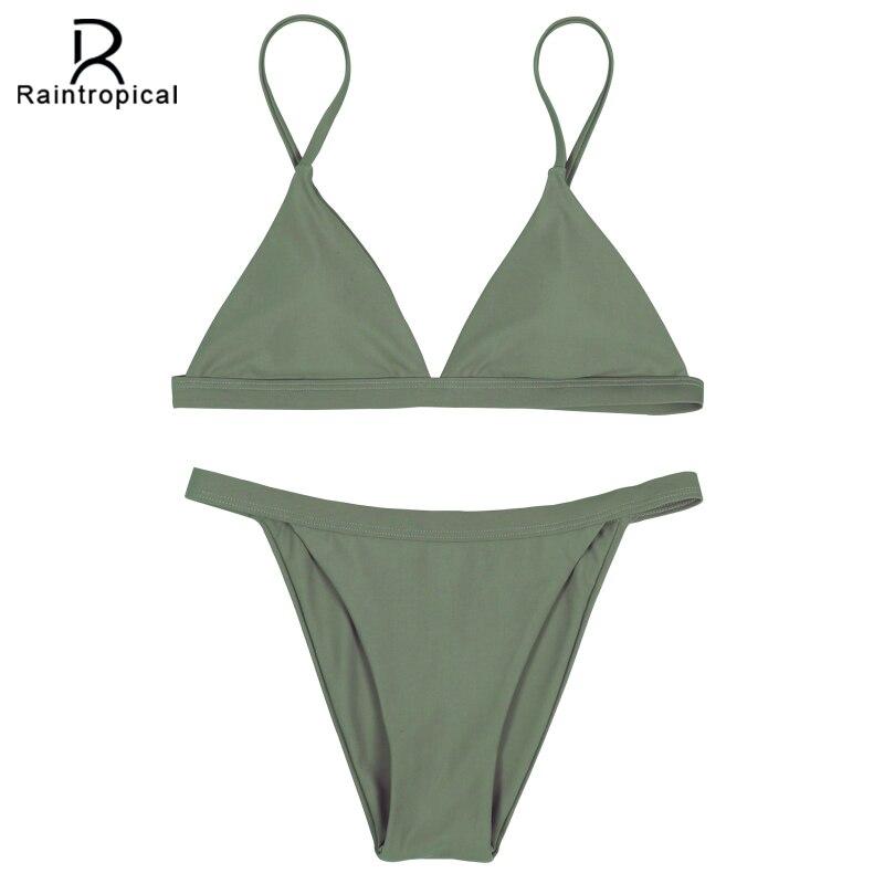 Raintropical 2019 New Sexy Women Swimsuit Mini Micro Bikinis Tassel Swimwear Brazilian Bikini Set Beach Bathing Suits Swim Wear Asia & Pacific Islands Clothing