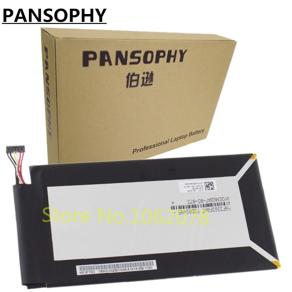 PANSOPHY 3.75 V 5070 mAh 19WH C11-ME301T Batterij Voor Asus Memo Pad Smart K001 10.1