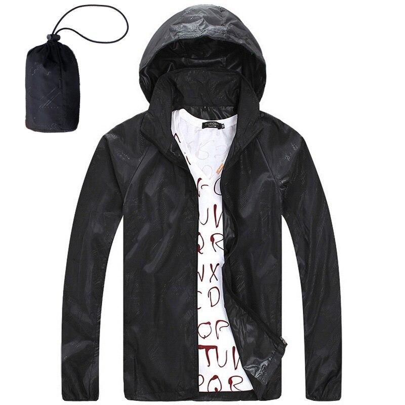 Sun Protection Skin Summer Jackets Men 2017 Windproof Hooded Coats Fruit Colors Thin Windbreaker Men's Casual Jacket,AM034