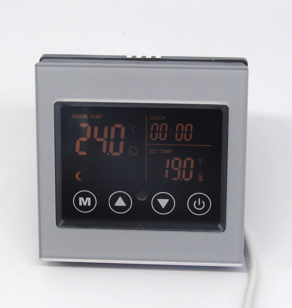 100-240VAC 16A Manual and Energy saving thermostat with ETC Certificate