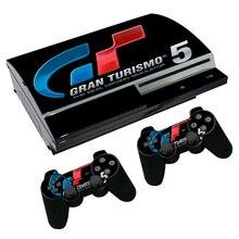 Gran Turismo deporte GT, pegatina de piel deportiva para PS3, consola Fat PlayStation 3 y controladores para PS3, vinilo de pieles anchas