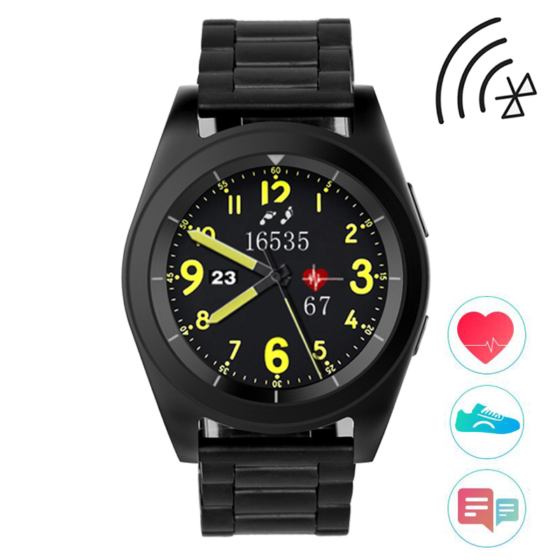 Bluetooth Smart Watch Men Women Heart Rate Monitor Pedometer Fitness Smart Sport Watch Connect For IOS Android Phone Smartwatch