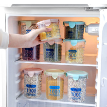 Три цвета 600-1000 мл, кухонная коробка для хранения, герметичный контейнер для хранения продуктов, пластиковый контейнер для хранения свежих продуктов