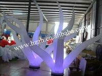 2017 Promotion Led Inflatable Seaweed decoration