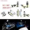 10pcs LED Canbus Interior Lights Kit Package For Porsche 911 997 (2005-2011)