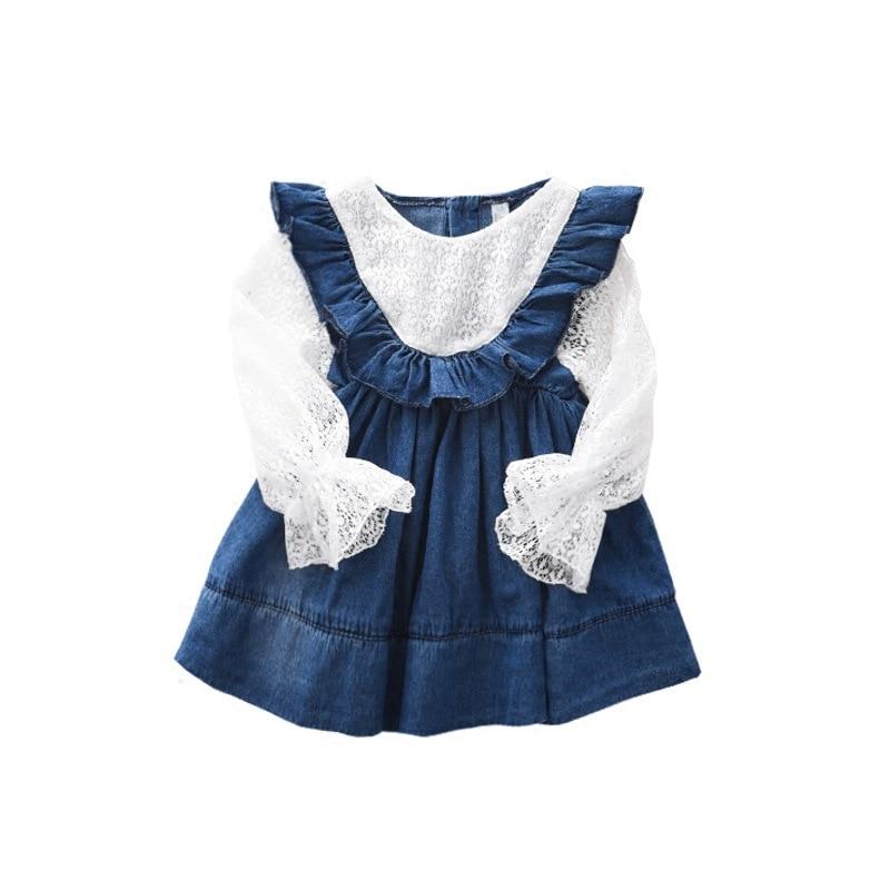 56affe60d47 WLG весенние платья принцессы для девочек