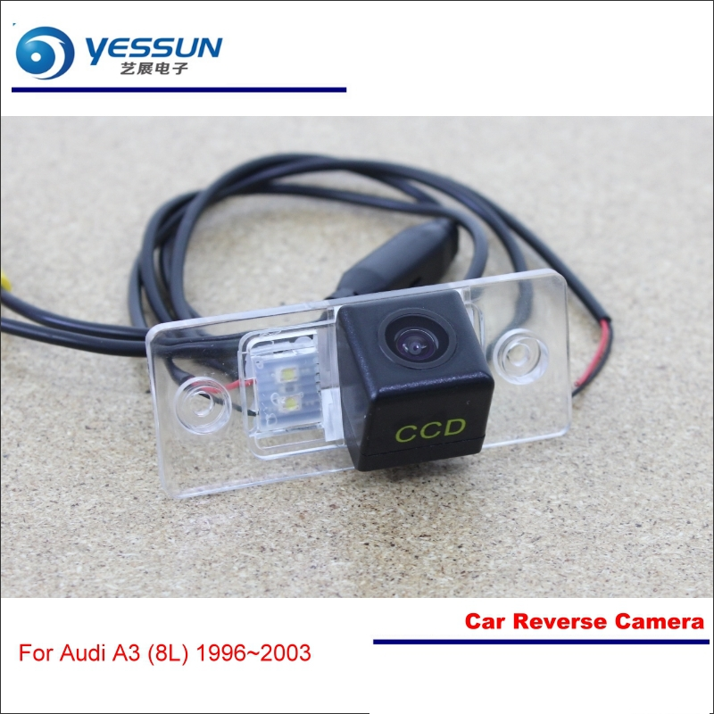 Car Reverse Camera For Audi A3 (8L 8P 8V) - Rear View Back Up Parking Reversing Camera - HD CCD Night Vision High Quality