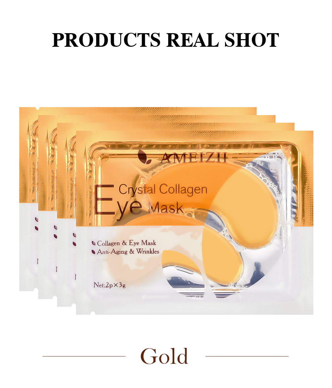AMEIZII Skin Care Collagen Eye Mask For Eye Care Eye Patch Korea Eye Cream Dark Circles Remove Anti-Aging Wrinkles Eye Patch. 5