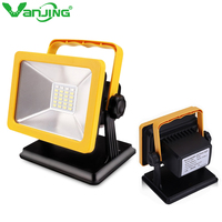 15W Rechargeable LED Floodlight Project Emergency Lamp IP65 Waterproof Car Charging Camping Lamp Spotlight