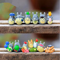 1 unids 3 CM Japonesa de Dibujos Animados Ha yao Anime Figura Mi Vecino Totoro mini Figuras de Juguete estatuilla Enviado al azar P234