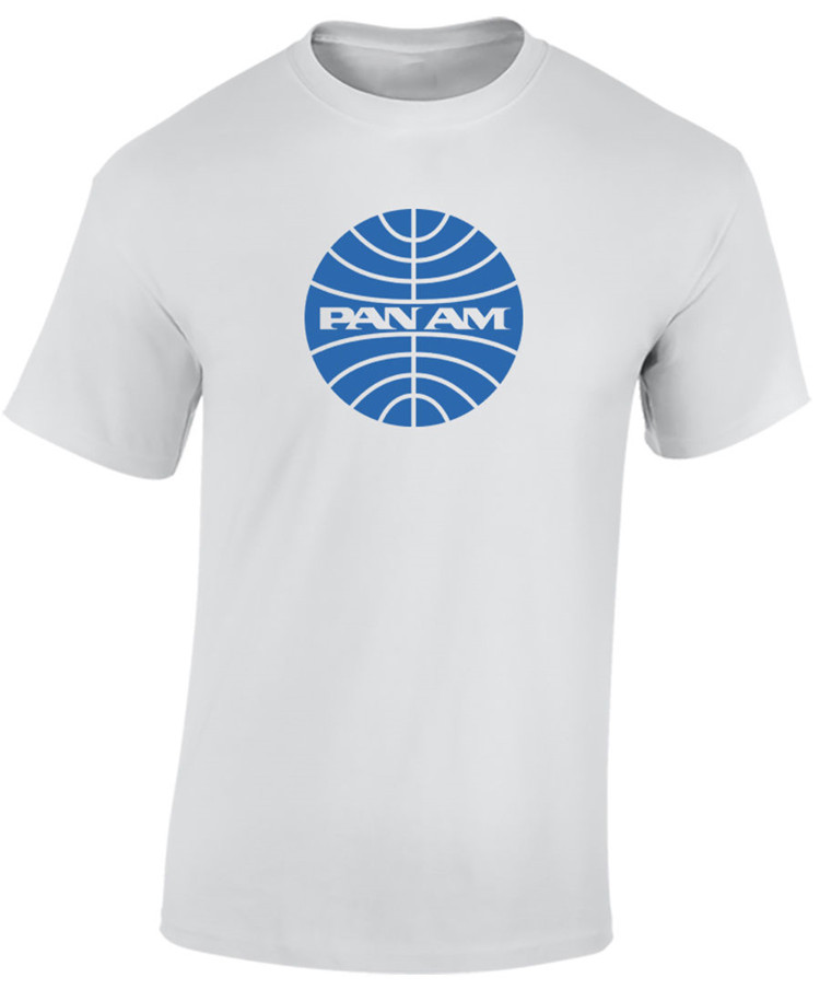 Pan Am Airlines T Shirt Airline Pan American Aviation Tee