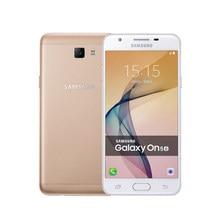 Original samsung galaxy on5 g5700 telefone móvel j5 prime duplo sim 4g lte octa núcleo 5.0 131313mp desbloqueado, frete grátis