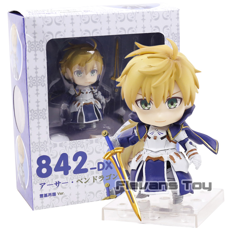 Saber/Arthur Pendragon (Prototype) Ascension Ver. Nendoroid 842 Fate/Grand Order PVC Action Figure Collection Model Kids Toy new fate grand order saber altria pendragon alter dress ver pvc action figure collection toys valentine s day gift for friends