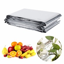 Garden Greenhouse Plant Reflective Film Cover Solar Transmitting 210 x 120cm