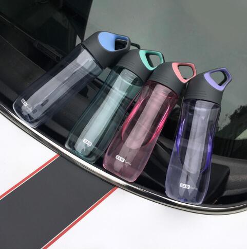 650ml Creative Sports Water Bottles Shaker Drink Bottle for Water Plastic BPA Free|Water Bottles|   - AliExpress